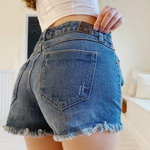 Super cute jean shorts from life in progress 🤩